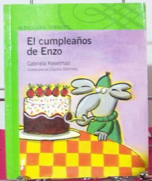 El Cumpleaños De Enzo, Gabriela Keselman, Alfaguara