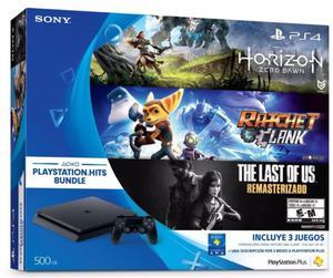 GRAN OFERTA play station 4 + juegos Slim nueva en caja.