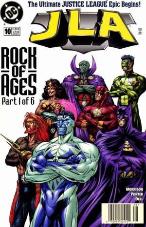 Justice Legue Of América Nº 10, Rock of ages, Dc Comics.