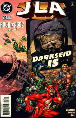 Justice Legue Of América Nº 14, By Dc. Rock Of Ages 5.