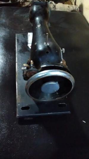 Máquina de coser antigua de aluminio para adorno reparar o