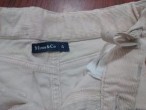 Pantalon de corderoy nena, MIMO talle 4