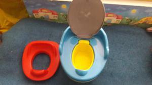 Pelela y adaptador para inodoro infantil