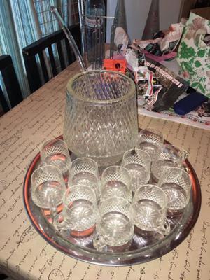 Ponchera de cristal