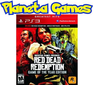 Red Dead Redemption Complete Game of The Year Edition Ps3