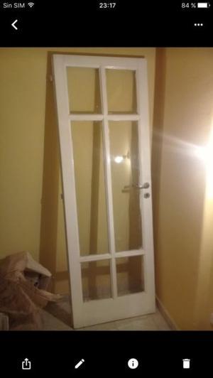 Vendo puerta de madera impecable 2x0,70