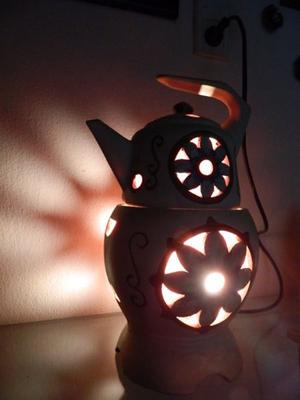 lampara retro decorativa