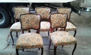 lote sillas estilo frances provenzal