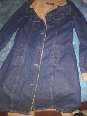 vendo saco jean con corderito