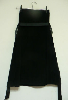 vestido negro 47 street!!