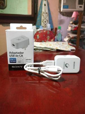 """Cargador Sony""""Nuevo"""" Carga Rápida """"Original"""""""