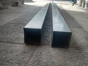 Estructurales laminado 100x100x1,6. 6 metros