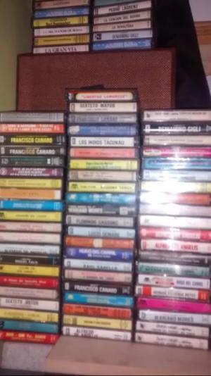 Lote 155 Cassettes a $6 c/u!!! liquidación total!!