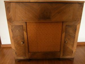 Mueble Combinado Winco Antiguo De Madera Tocadiscos Envios