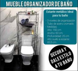 Mueble de ba o toalleros organizador ba o posot class for Mueble organizador bano