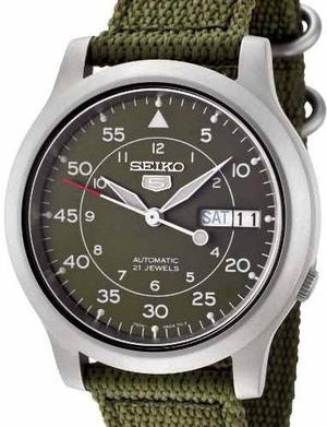 Reloj Seiko 5 Automatico Militar Snk805 Garantia X 12 Meses