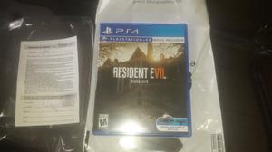 Resident evil 7 como nuevo comprado el 10 de