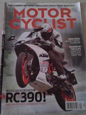 Revista Moto Motor Cyclist BMW R905 EN INGLES