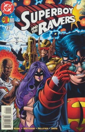 Superboy and the Ravers Nº 1, Dc Comics, En Inglés, Sep