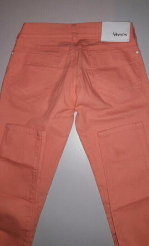 Vendo pantalon jeans salmón y campera de jeans nuevo