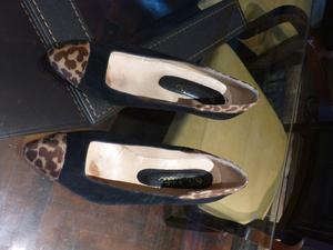 Zapato Cuero Y Piel
