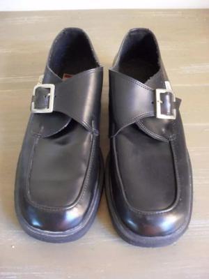 Zapatos Hombre Negros 43 Impecables