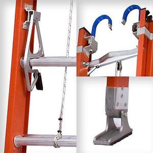 Escalera dielectrica extensible fibra de vidrio 16 posot - Escalera de fibra de vidrio ...