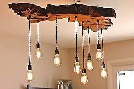 lampara artesanal.