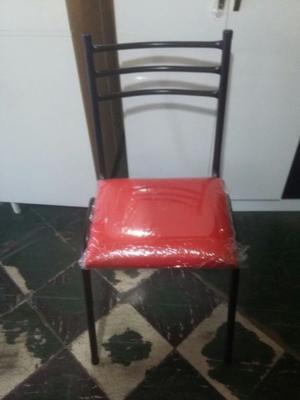 sillas de caño apilables