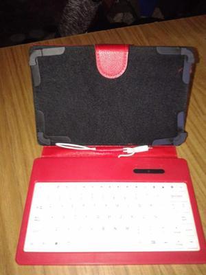vendo funda con teclado para tablet de 7 pulgadas