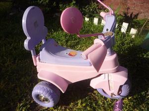vendo triciclo rosa para nena