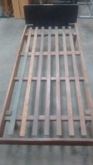 Cama de madera 1p