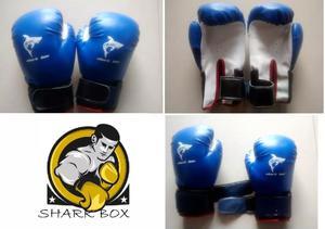 Guantes de boxeo juniors 6oz - shark box