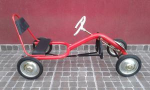 karting a pedal tipo vespa de chapa posot class. Black Bedroom Furniture Sets. Home Design Ideas