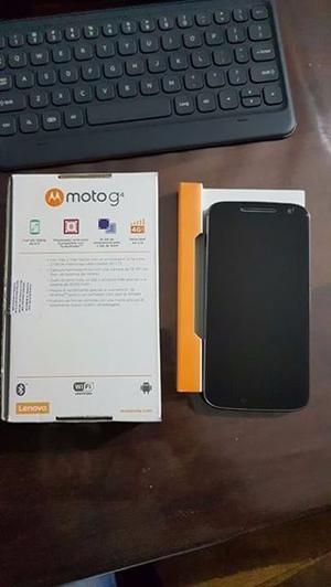 Moto G4 XT Como nuevo Libre de origen. En caja completo.