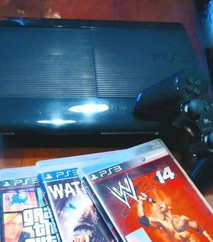PS3, PLAY STATION 3, ORIGINAL, 5 JUEGOS, OPORTUNIDAD!!!