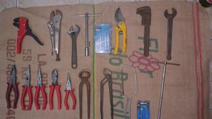 Vendo lote de herramientas importadas