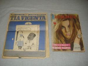 revistas antiguas (Tia Vicenta y Radiolandia)