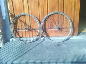 ruedas de bicicleta antigua rodado 28 exelentes