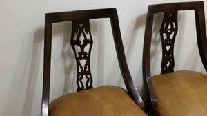 vendo 6 sillas estilo americano antiguas $ cada una