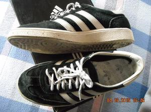 zapatillas adidas special en gamuza negra fondo goma n° 40