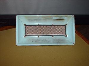 1 pantalla para gas natural o garrafa de pared o sobre