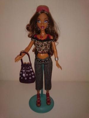 Barbie My Scene Madison- Perfecto Estado + Accesorios