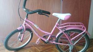 Bicicleta De Paseo De Nena Rodado 20