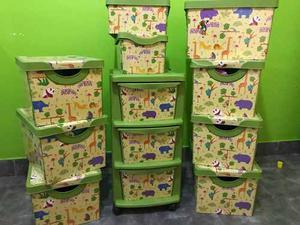 Cajas De Plástico - Para Chicos, Juguetes, Súper