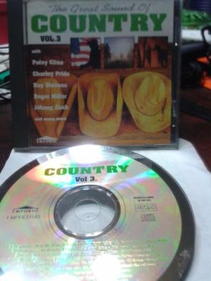 Country -- Great Sound Of Country Vol.3 CD + VHS USA