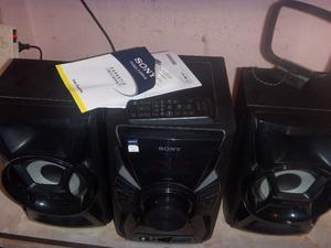 Equipo Minicomponente Sony, cd, usb, control, en caja,