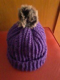 Gororro violeta crochet