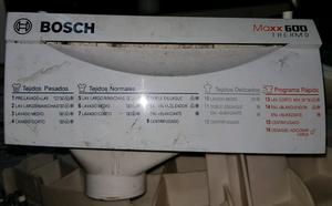 Jabonera completa de lavarropas Bosch Maxx 600