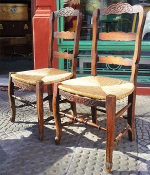 Mesa y 6 sillas estilo provenzal posot class - Sillas estilo provenzal ...